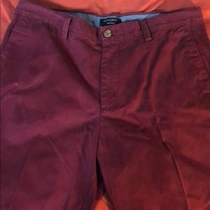 Banana republic chino shorts, size 34